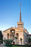 Old classical building of Sochi Seaport Royalty Free Stock Images
