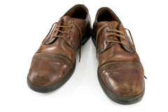 Old classical shoes  Royalty Free Stock Photography