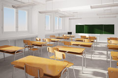 Old classroom Royalty Free Stock Photography