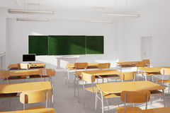 Old classroom Royalty Free Stock Photo