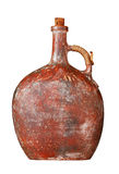 Old clay jug Stock Photo