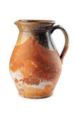 Old clay jug stock images