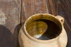 Old clay jug Royalty Free Stock Image