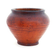 Old Clay pot Royalty Free Stock Photography