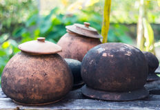 Old clay pot Royalty Free Stock Photos