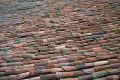Old clay tiles Stock Images