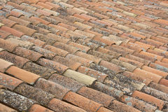 Old clay tiles Royalty Free Stock Photo
