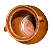 Old clay vessel Stock Photo