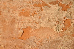 Old clay wall Royalty Free Stock Photography
