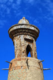 Old clay watch tower in Mesopotamia style Royalty Free Stock Photography