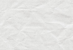 Old clean horizontal recycled rough white striped paper texture or background Stock Image