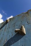 Old climbing wall Royalty Free Stock Image