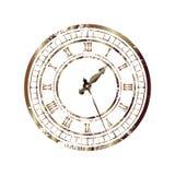Old_clock 库存例证