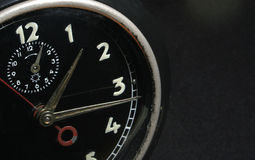 Old Clock. A extreme close up of an Old Clock Stock Image