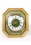 Old clock. The old clock on a white background Royalty Free Stock Photos