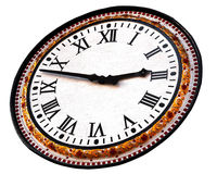 Old clock. Photo of the old clock isolated Stock Photography
