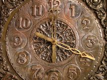 Old clock. Artistic old clock Royalty Free Stock Image