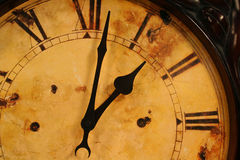 Old clock. Antique clock Stock Photography