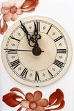 Old clock. A close-up photo of an old clock Stock Image