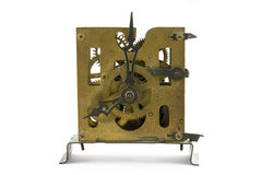 Old clock. On white background Royalty Free Stock Photography