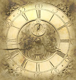 Old clock background Royalty Free Stock Image