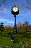 Old clock  Bucharest, Romania Royalty Free Stock Photography