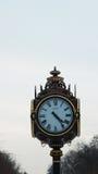 Old clock in Cismigiu Park of Bucharest Stock Photo