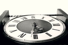 Old clock close up. Image Stock Photography