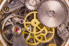 Old clock close up Stock Photo