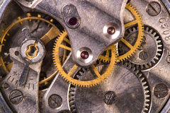Old clock close up Royalty Free Stock Photo