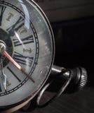 Old clock closeup Stock Photos