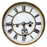 Old clock detail Royalty Free Stock Photos