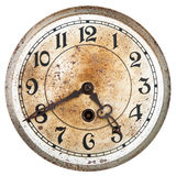 Old clock dial Stock Photography