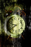 Old clock face Stock Image