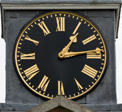 Old Clock Face Royalty Free Stock Photos