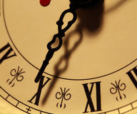 Old clock face Stock Images
