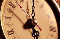 Old clock face Royalty Free Stock Images