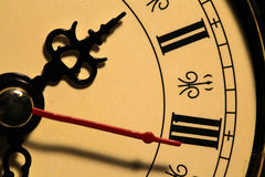 Old clock face Stock Photography