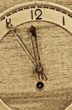 Old clock full frame Stock Image