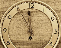 Old clock full frame Stock Images