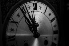 Old Clock Handmade royalty free stock photos