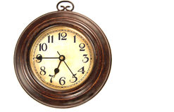 Old clock, isolated Stock Images