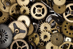 Old clock machine Royalty Free Stock Images