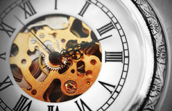 Old clock machine Royalty Free Stock Photo