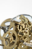 Old clock machine Royalty Free Stock Image