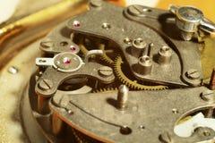 Old clock mechanism Stock Photos