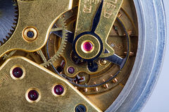 Old clock mechanizm Royalty Free Stock Photography