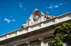 Old Clock in Milan Stock Photos