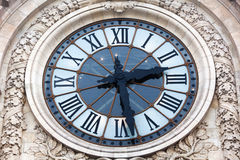 Old clock of the Orsay museum Stock Photography
