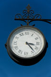 Old clock outdoor Royalty Free Stock Photo